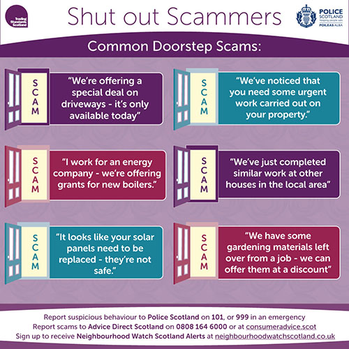 Top Doorstep Scams