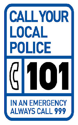 Police launch 101 non-emergency number